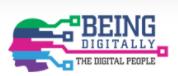 Being digitally logo